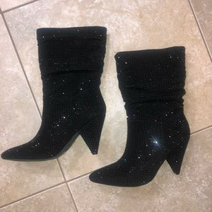 Report footwear CACHE BLACK SHIMMER boot